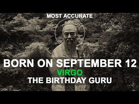 Born on September 12 | Birthday | #aboutyourbirthday | Sample