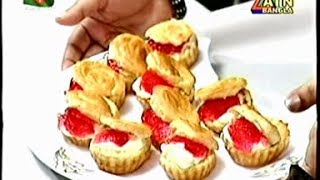Cream Puffs - Recipe By Meherun Nessa Presented At Atn Ranna Ghor (every Saturday11:45 Am)