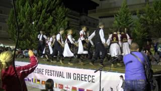 Международния фолклорен фестивал Паралия Катерини 2015 Клуб
