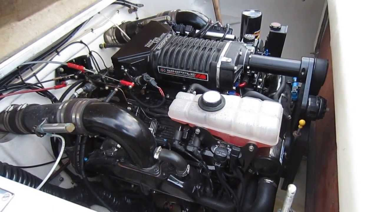 Mercury 496 supercharger start up
