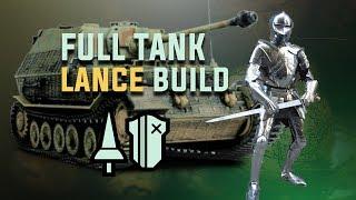 Full Tank Lance Build - Monster Hunter: World. Lance Tips. Sturdy Reliable Lance Build