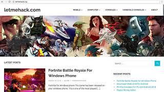 Download Fortnite Battle Royale for Windows Phone