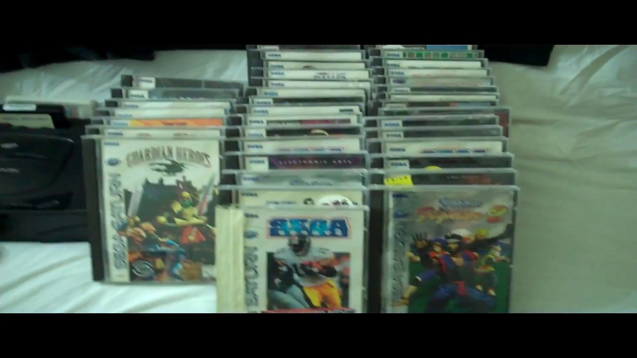My Sega Saturn Collection Youtube