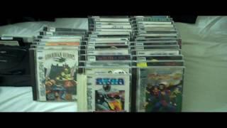 My Sega Saturn Collection