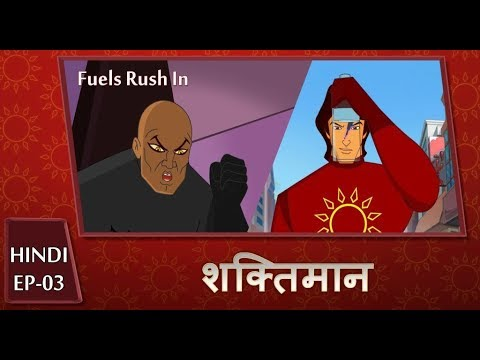 Shaktimaan Animation Hindi - Ep#03