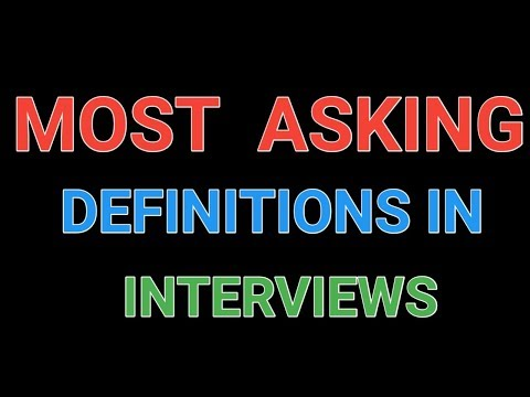 Untold secrets of Interview definitions with answers || Most Asking Definitions || Pharma Guide