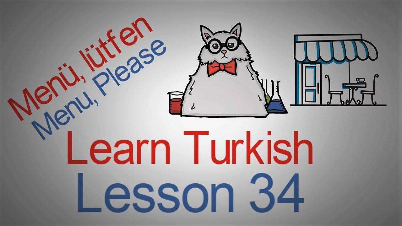 Learn Turkish Lesson 34 - Eating Phrases (Part 2)