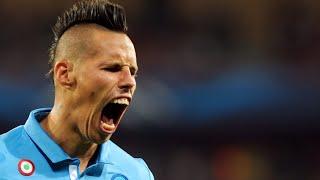 Napoli - hellas 2 - 0 ●  tutti i gol ● 100 gol di hamsik con il napoli