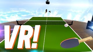 VR Games - *INSANE* VR Table Tennis!!