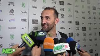 """""""A la hinchada:Continúen confiando"""":Hernán Barcos..."""
