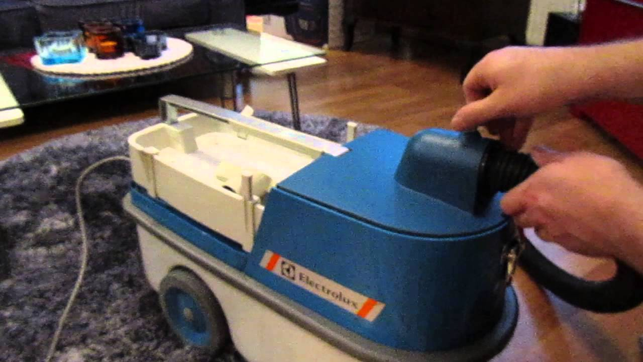 Electrolux Z75 Professional Vacuum Cleaner 1988