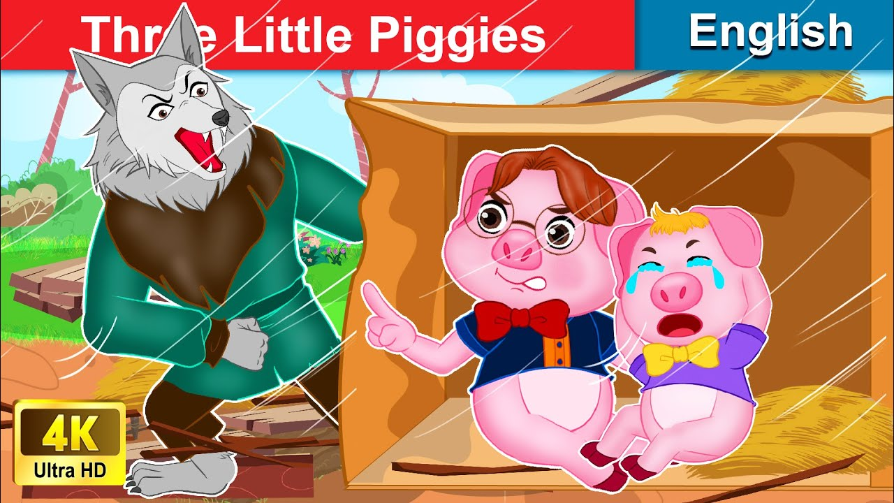 Three Little Piggies 🐷 Story in English | Stories For Teenagers | WOA Fairy Tales