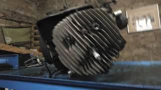 Piaggio Ape P501 Motor zerlegen Teil1