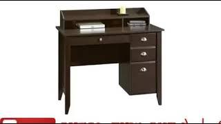 Sauder Shoal Creek Desk Jamocha Wood