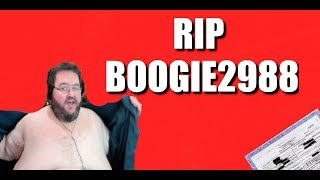 Boogie2988 is Dead and Ghost has been Seen