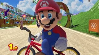 Mario & Sonic at the Rio 2016 Olympic Games - BMX (All Characters)