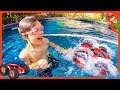 RC MONSTER TRUCK DRIVING on WATER!