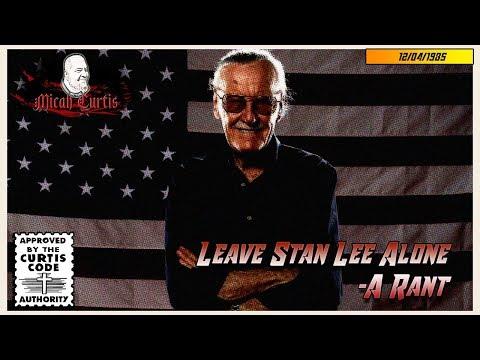 [SocJus] Leave Stan Lee Alone- A Rant • r/KotakuInAction