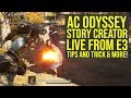Assassin's Creed Odyssey Story Creator Mode LIVE FROM E3 2019 With TIps And Tricks AC Odyssey