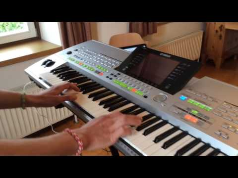 Snap feat. Rukmani - Rame - 20th Anniversary Trance Remix - Piano Keyboard Synth Cover LIVE by SLADA