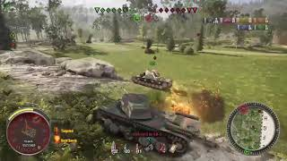 World of Tanks - FCM 50 t 7 kills, 7.4k Damage