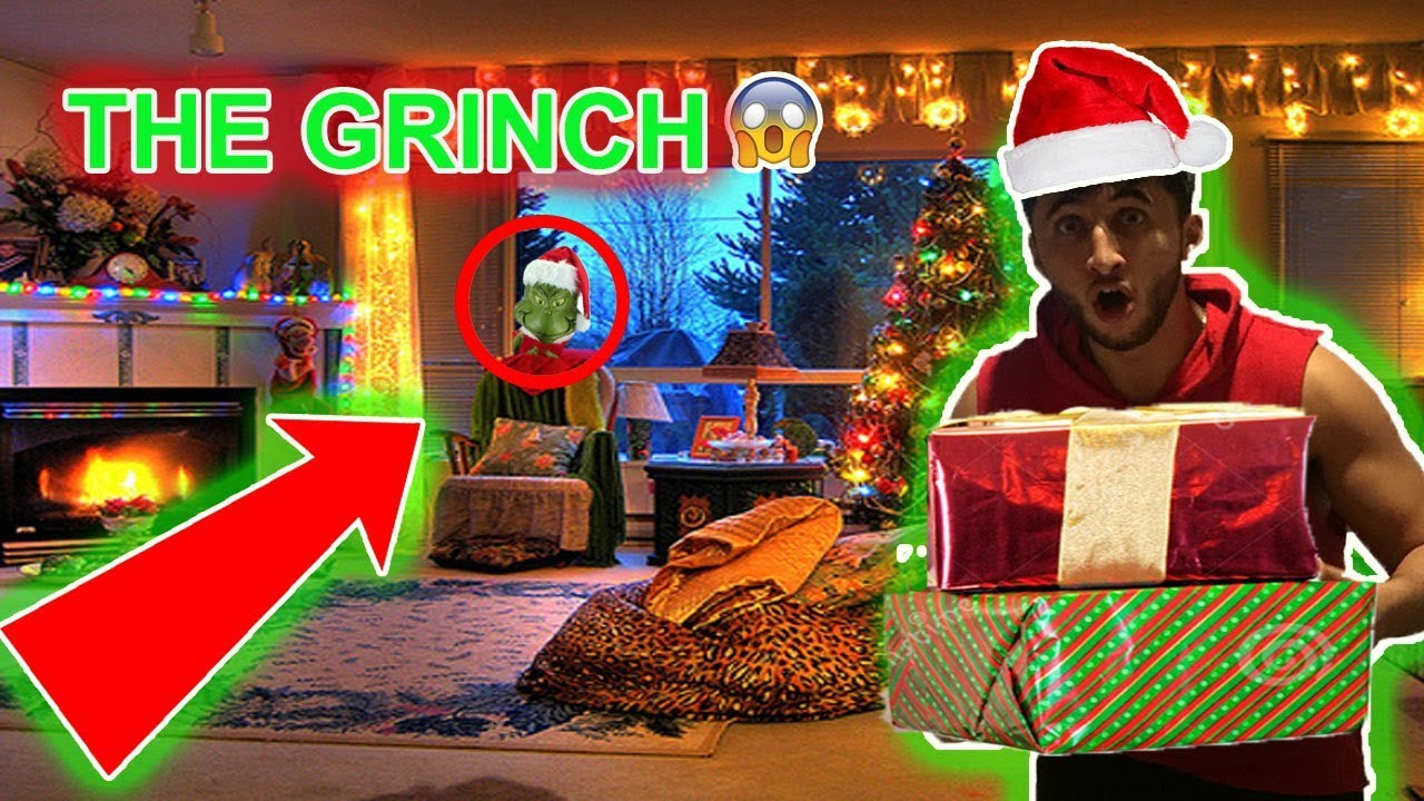 NOT CLICKBAIT!!) THE GRINCH STOLE MY CHRISTMAS GIFTS!! | SHOUTOUTS ...