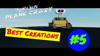 Roblox Plane Crazy Best Creations #5