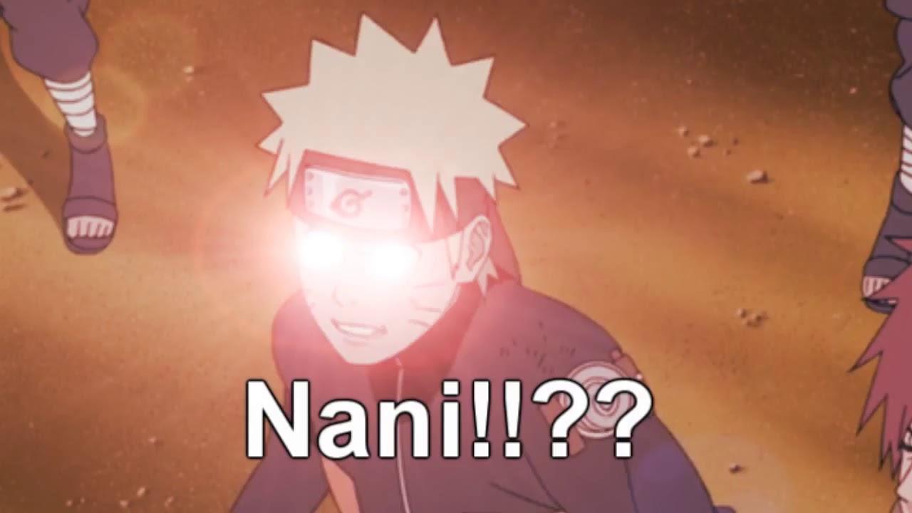 Naruto Omae Wa Mou Shindeiru Nani Youtube