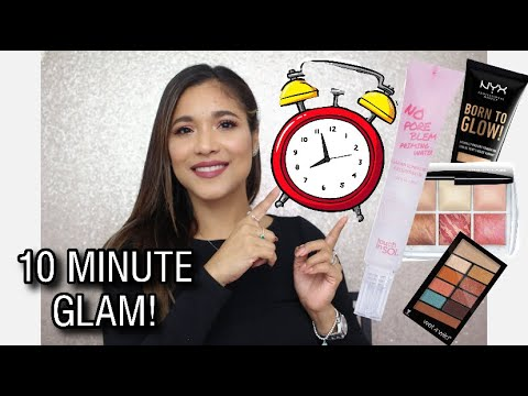 10 MINUTES MAKEUP ROUTINE / GLOW UP IN 10 MINS