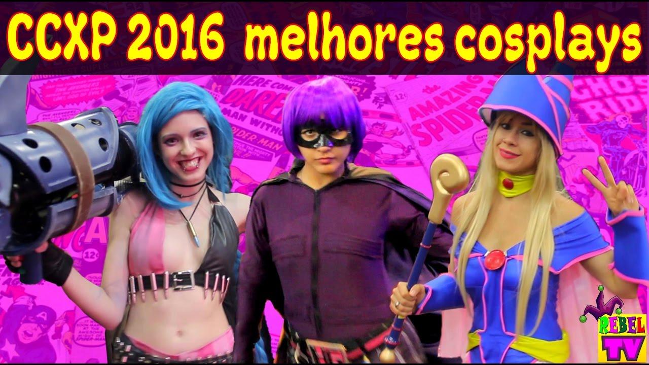 CCXP 2016 Melhores Cosplays - Coletânea de 4 dias