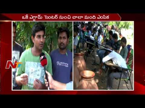 Group 2 Exam Candidates Protest against Exam Result || Demands Re Exam || Telangana || NTV