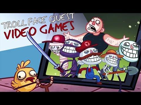 ترول فيس التحشيشية !! بنسخة الالعاب1# Troll Face Quest Horror