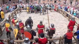 видео Рыцарский турнир (5): шлем против дубины