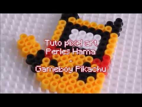 Tuto Pixel Art Gameboy Pikachu