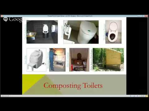 The Opportunity in Front of Us: Ecological Toilets