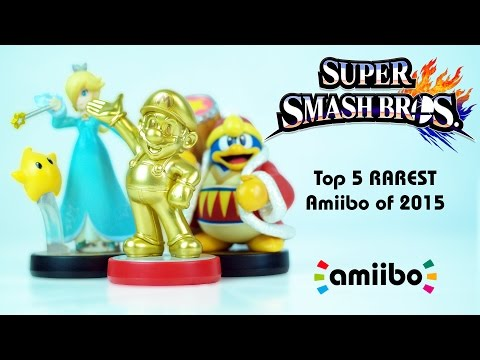 The Top 5 RAREST Amiibo of 2015 | A Year of Hunting & Collecting!