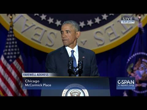 President Obama Farewell Address (C-SPAN)
