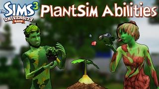 The Sims 3 University Life: PlantSim Abilities