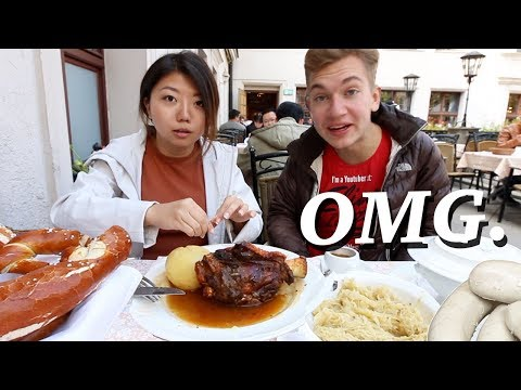 WHAT TO EAT IN MUNICH, GERMANY! 5 Bavarian German Foods to Try