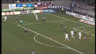 ael panathinaikos 2 0 novasports highlights 2010 11 greece 25th matchday
