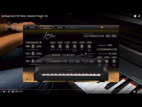 Synthogy Ivory II VST Demo - Yamaha C7 Grand - HD
