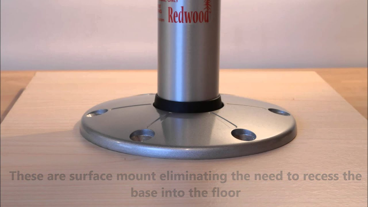 Itc Redwood Table Leg System From Chippys Workshop Youtube