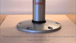 Itc Redwood Table Leg System From Chippys Workshop
