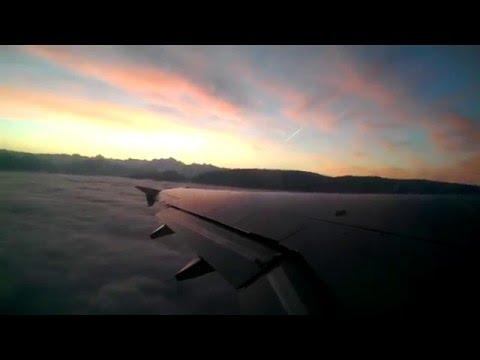 Most Amazing Plane Take Off Footage - Sunrise - Geneva -