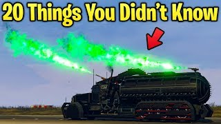 20 Things You Didn't Know About the Arena War DLC in GTA Online