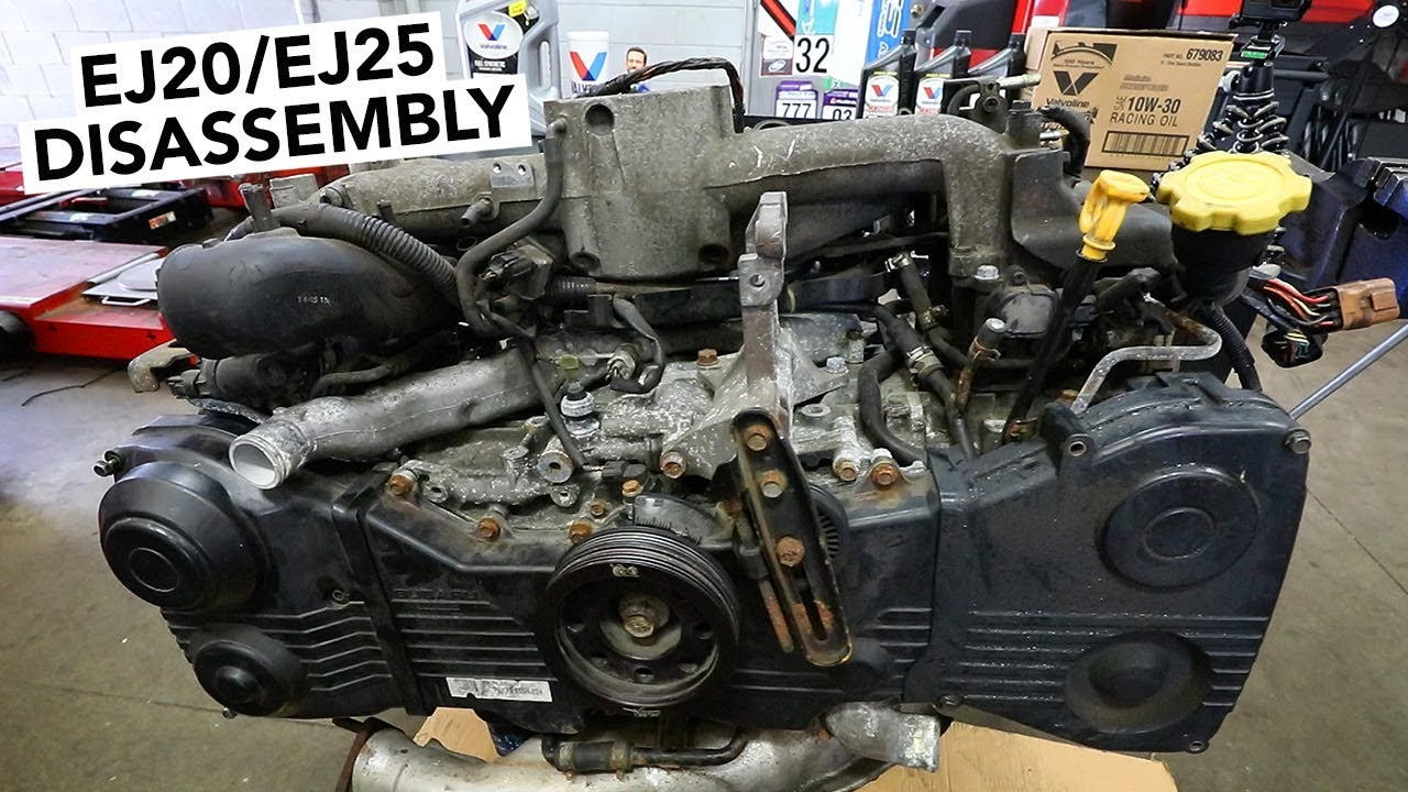 SUBARU Engine Rebuild - EJ20 / EJ25 Teardown How To