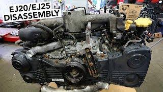 SUBARU Engine Rebuild - EJ20 / EJ25 Teardown How To