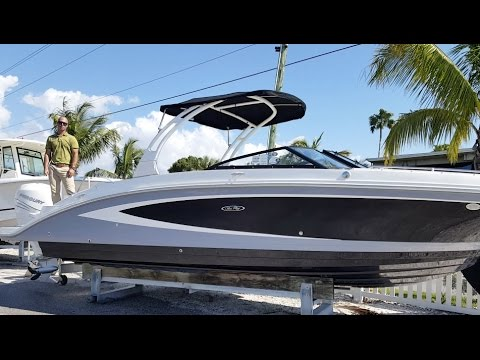 2017 Sea Ray SDX 270 Outboard Boat For Sale at MarineMax Sarasota
