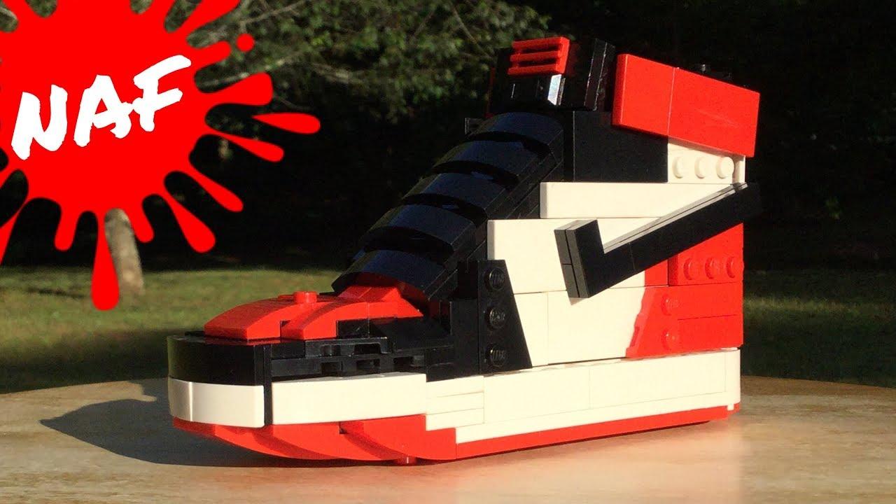I Built an Air Jordan One Retro in LEGO!!