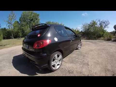 Peugeot 206 RC Extérieur/Intérieur - YouTube